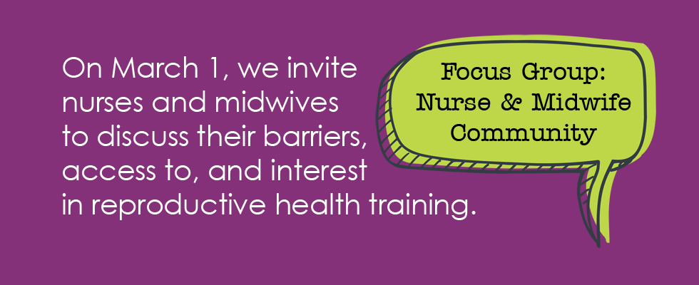 Focus Group Nurses and Midwives
